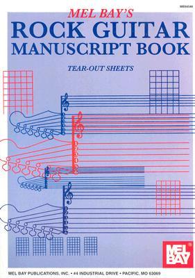 Rock Guitar Manuscript Book